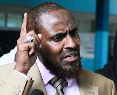 Abduba Dida arrested. PHOTO | Courtesy