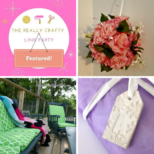 The Really Crafty Link Party #106 featured posts
