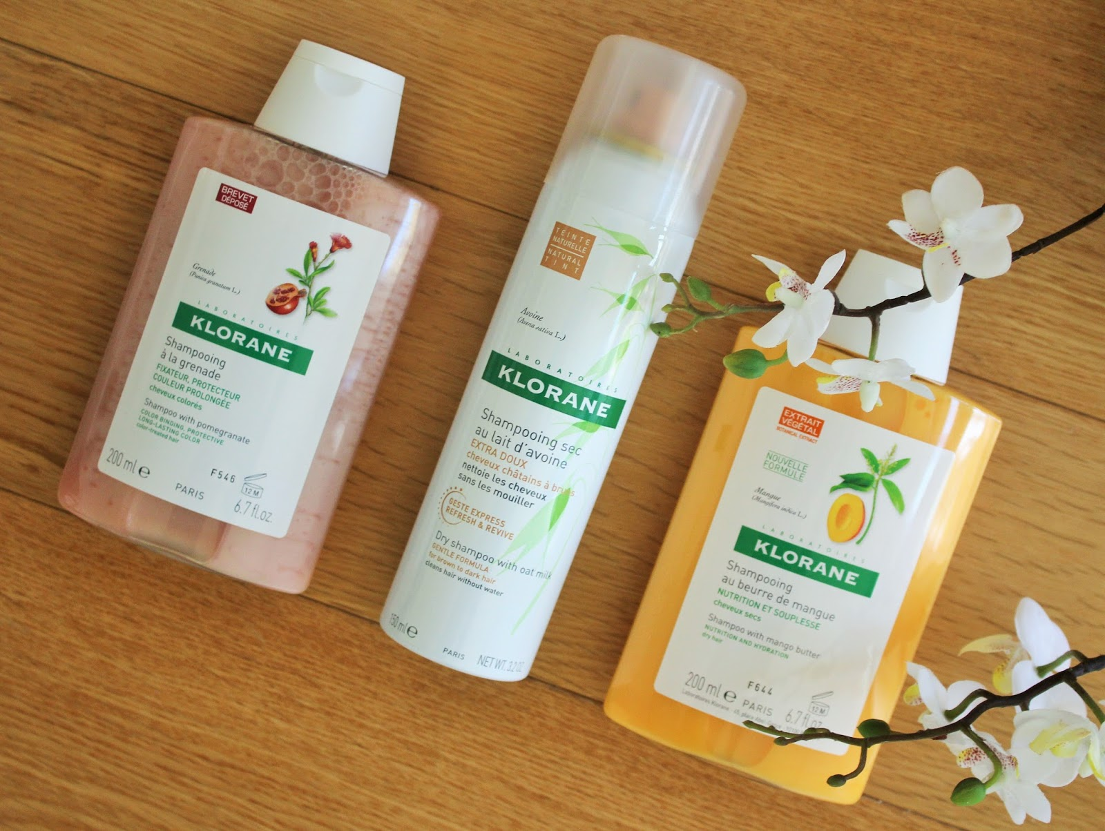 Klorane Shampoos 1