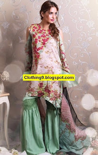 RANG RASIYA Digital Embroidered Linen Collection 2016