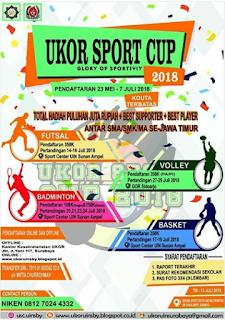 Ukor Sport Cup SMA Sederajat 2018 di UIN Sunan Ampel Surabaya