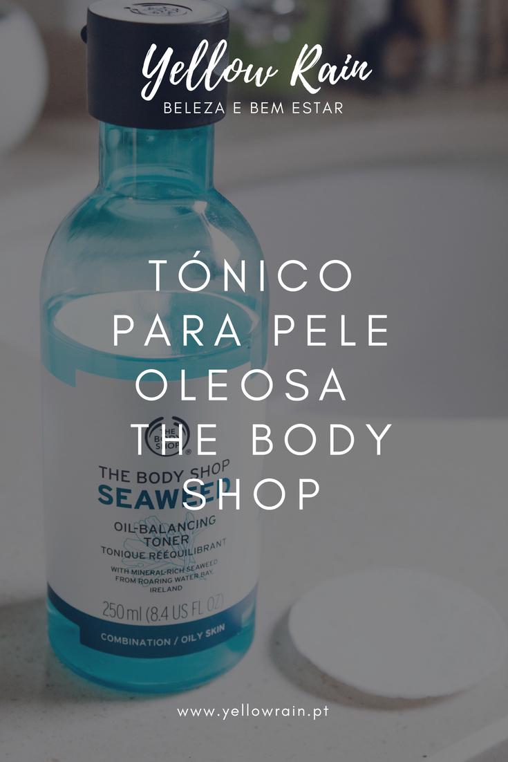 Tónico Para Pele Oleosa  The Body Shop