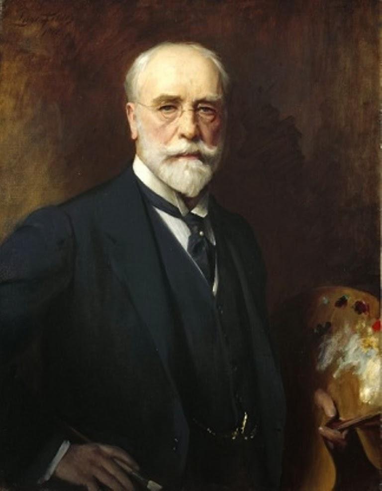 Luke Fildes, Self Portrait, Portraits of Painters, Fine arts