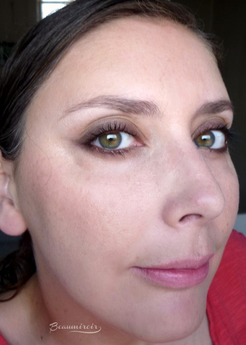 Smokey eye look using Dior Parisian Sky eyeshadow palette: review, photos, swatches