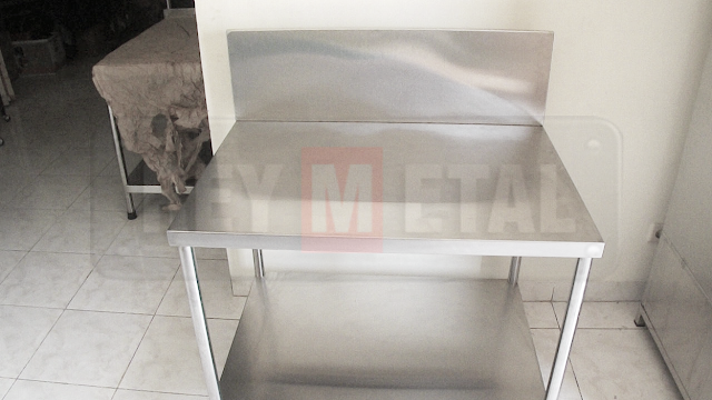 Meja Kompor Gas Stainless Steel