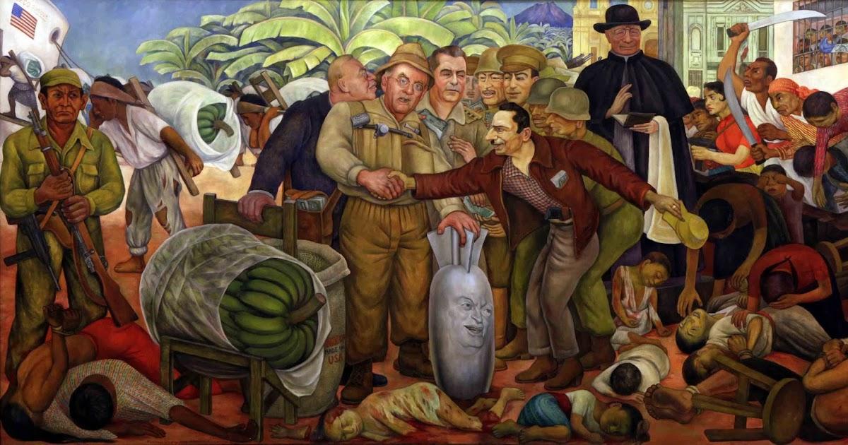 La espina roja gloriosa victoria mural de diego rivera for Mural de rivera