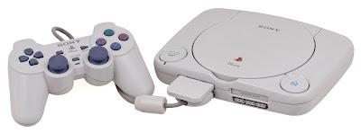 Consola de PlayStation One, mas compacto y economico