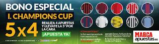 Marca Apuestas consigue bono especial International Champions Cup