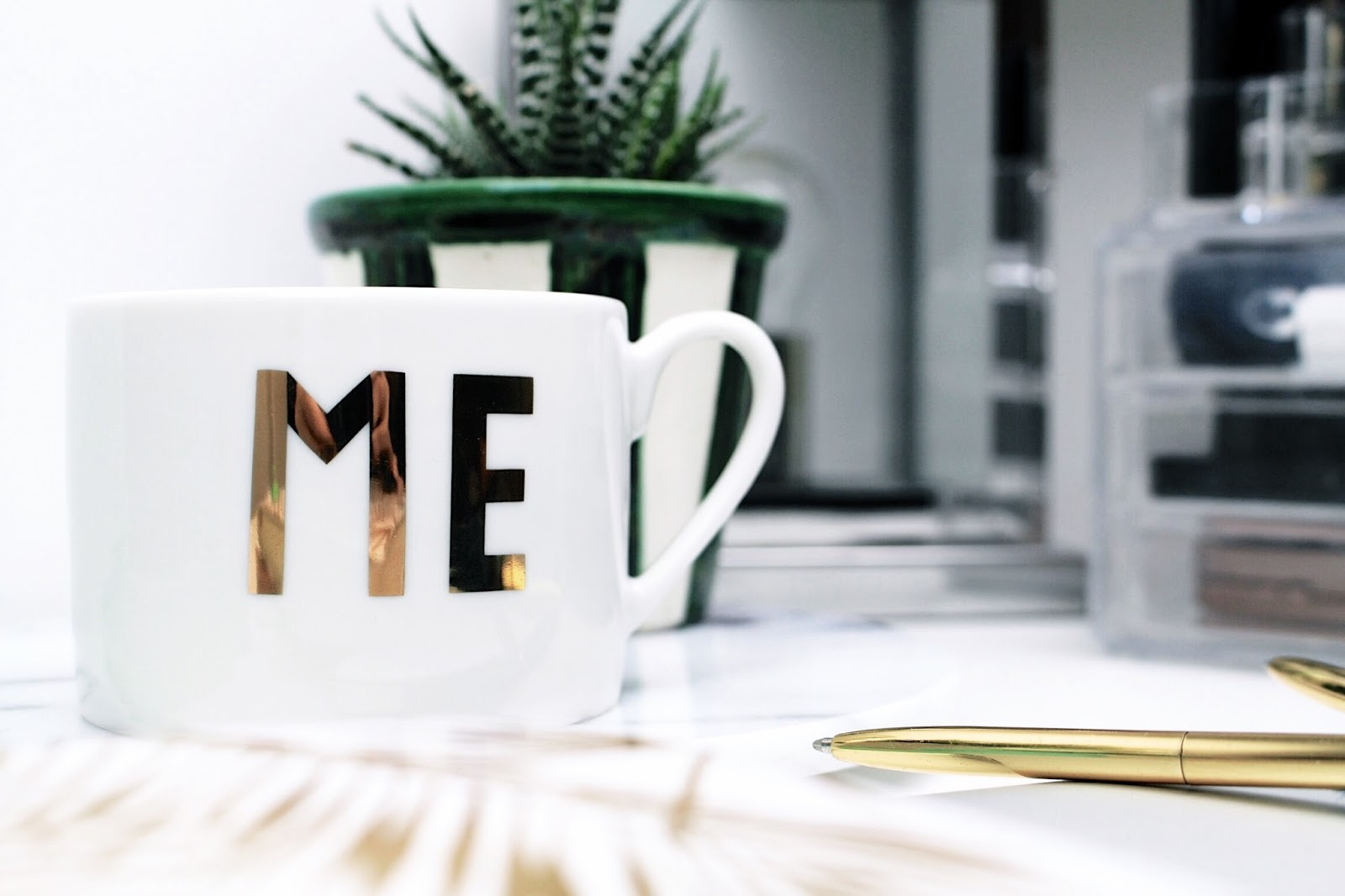 H&M Home Gold ME Mug