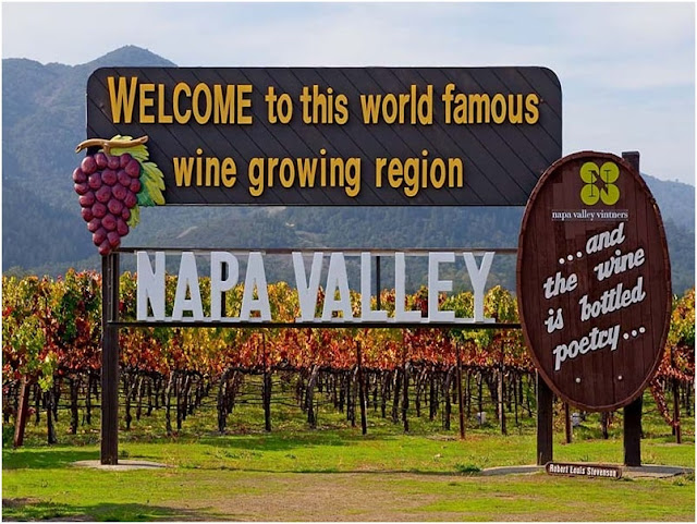 The Napa Valley Wine Country