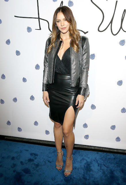 Lovely Ladies In Leather Katharine Mcphee In A Leather