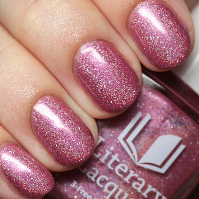 Literary Lacquers Feather Family
