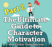 character motivation, laurence macnaughton