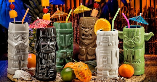 ThinkGeek's Star Wars Geeki Tikis are perfect for blue milk