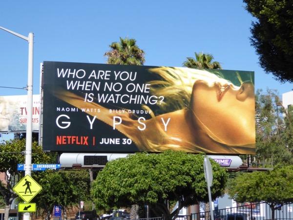 Gypsy series premiere billboard