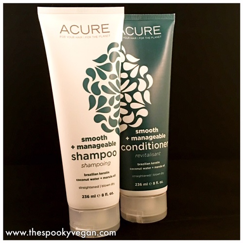 The Spooky Vegan: Acure Organics Smooth + Manageable