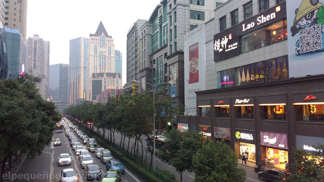 Chengdu, ciudad, mochilero, alimentos, shopping, tarifas