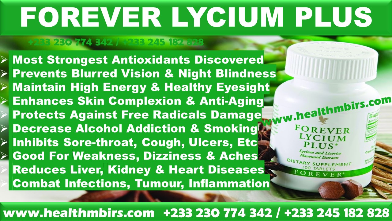 FOREVER LYCIUM PLUS TO ENHANCE SKIN COMPLEXION HIGH ENERGY