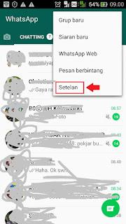 cara agar tidak diketahui melihat status teman