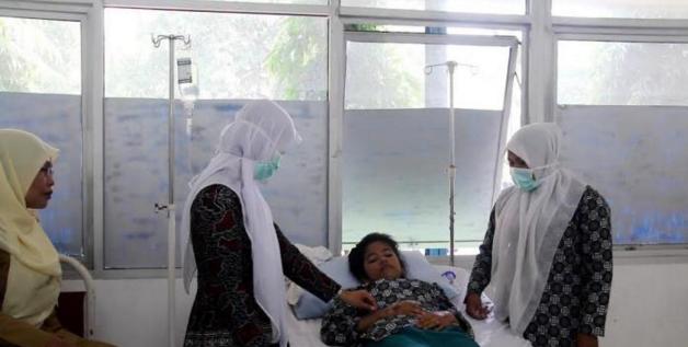 Akibat Kabut Asap, Puluhan Siswa di Aceh Barat Tumbang