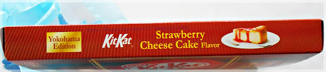Nestle Kit Kat Strawbery Cheese Cake flavor (Yokohama edition)
