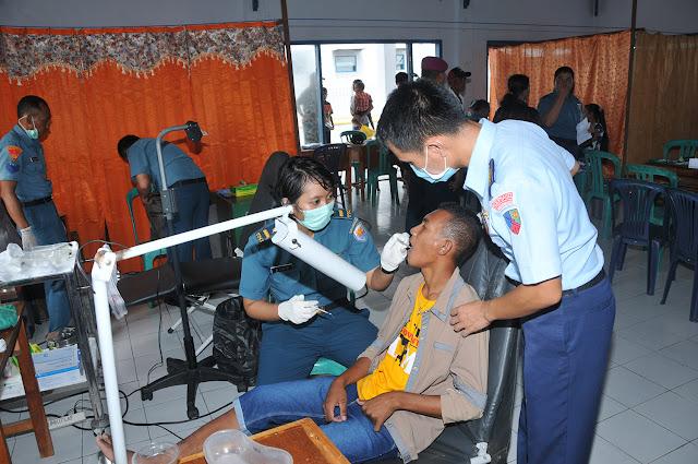342 Personel TNI Misi Pelayanan Kesehatan Tiba di Pulau Lakor