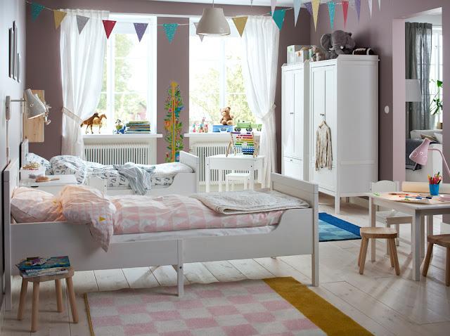 غرف نوم اطفال من ايكيا