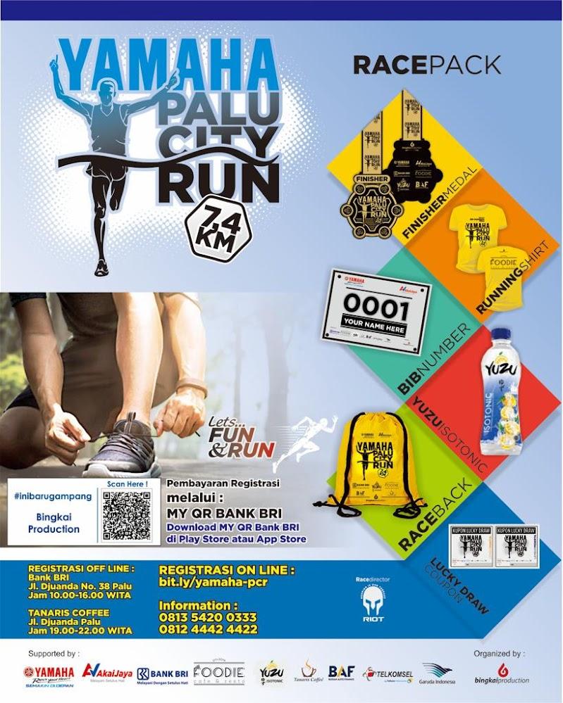 Yamaha Palu City Run • 2019