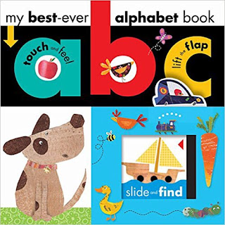 best ever lift the flap and touch alphabet book