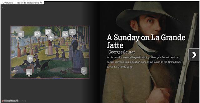 StoryMapJS. Herramienta gratuita de código abierto para ayudarte a contar historias geolocalizadas y de arte en la web