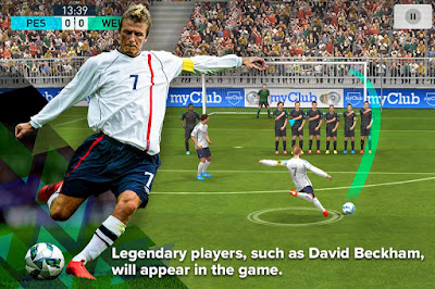 Download game android mod PES 2018 (Pro Evolution Soccer)