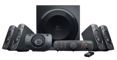 Logitech Z906 Surround 5.1 THX Certified Sound Speaker System @ ₹16,990