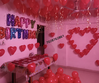 Birthday Decoration Ideas At Home With Balloons For Husband Modern