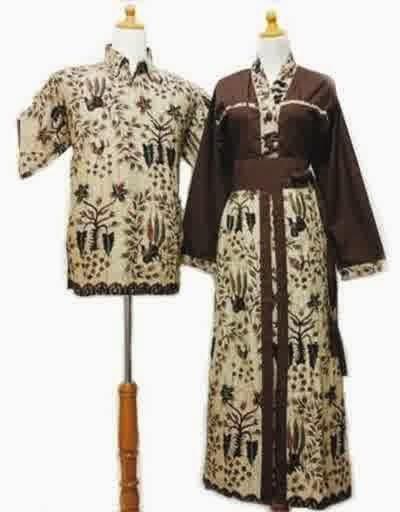 Contoh Model Baju Batik Sarimbit Terbaru