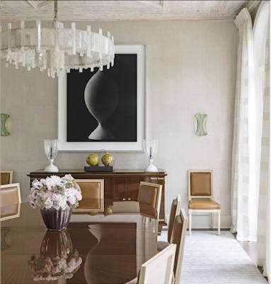 David Kleinberg Design in Palm Beach dining room