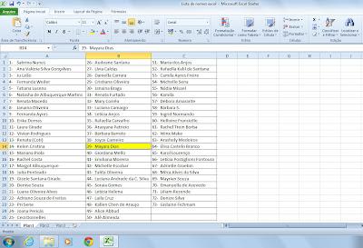 Sorteio+Labecca+lista+de+nomes Resultado do Sorteio: Cesta do Labecca Café + Bistrô