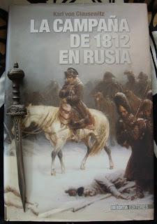 Portada del libro La campaña de 1812 en Rusia, de Carl von Clausewitz