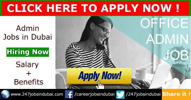 admin jobs in dubai