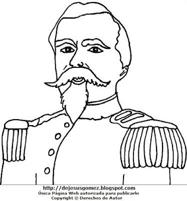 Dibujo de Francisco Bolognesi para colorear, pintar e imprimir para niños. Imagen de Francisco Bolognesi de Jesus Gómez