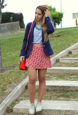 fotos de Faldas Casuales Moda