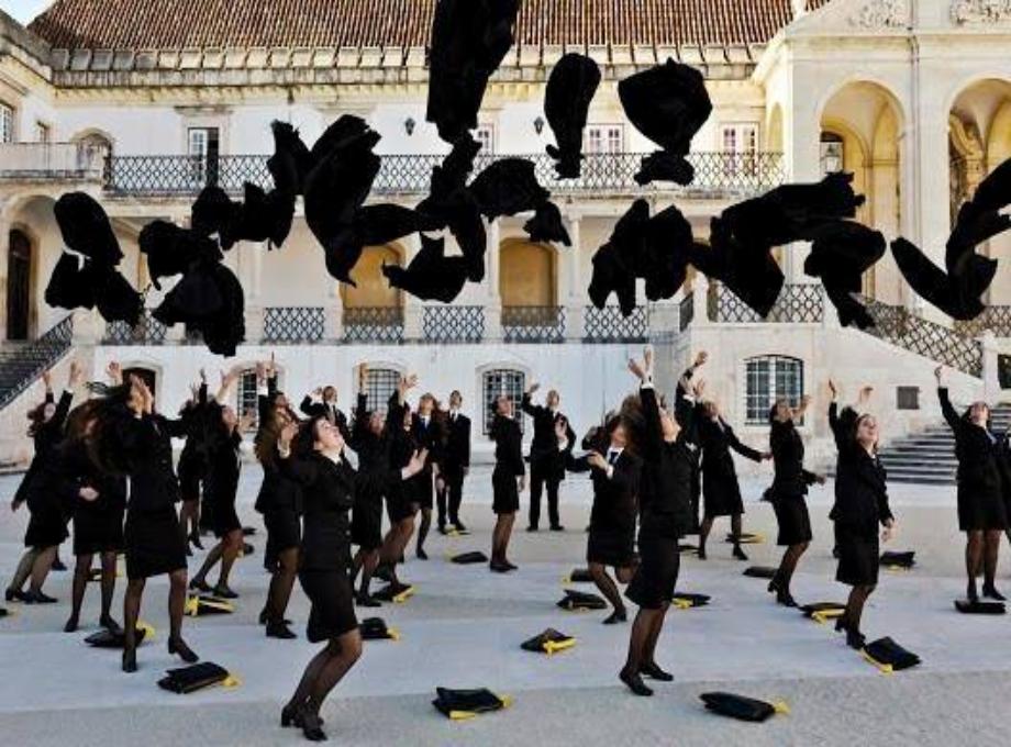 estudantes universitários em Portugal- Universidade de Coimbra foto divulgação