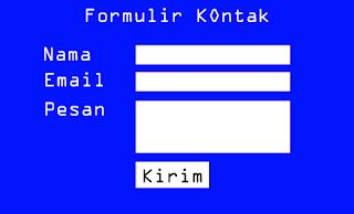 Cara Membuat Formulir Kontak