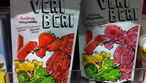 Żelki owocowe, Veri Beri