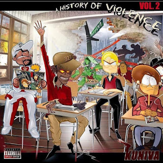 Kuniva - A History Of Violence 2 (2016) -  Album Download, Itunes Cover, Official Cover, Album CD Cover Art, Tracklist