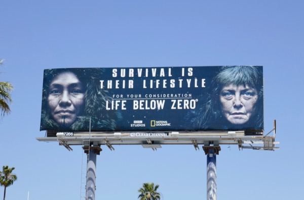 Life Below Zero 2018 Emmy FYC billboard