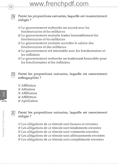 200 Questions de compréhension et expression écrite en français pdf gratuit