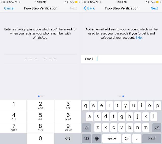 WhatsApp  İki Adımlı Doğrulama Yapımı