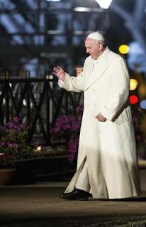 """""""As pessoas veem o papa como um mensageiro altamente confiável, respeitado e admirado, que está transmitindo uma mensagem clara de que o aquecimento global é uma ameaça grave"""","""