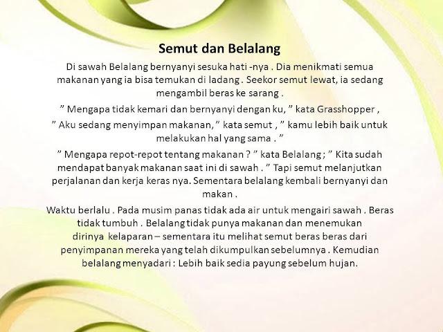 Contoh Dongeng Legenda Bahasa Sunda Singkat Auratoh