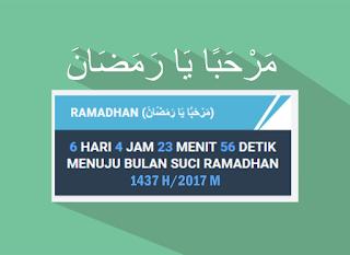 Widget Ramadhan pada Blog